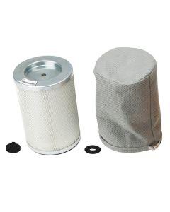 HEPA Cartridge Filter Assembly
